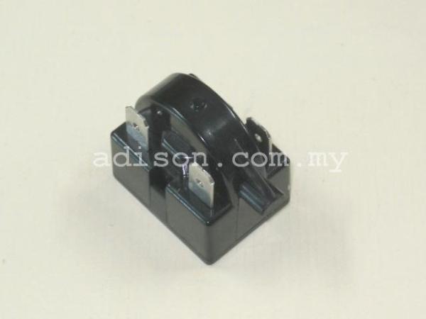 Code: 88403 PTC Relay 3 Pin Overload / Relay Refrigerator Parts Melaka, Malaysia Supplier, Wholesaler, Supply, Supplies   Adison Component Sdn Bhd