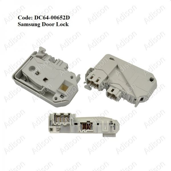 Code: DC64-00652D Samsung Door Lock Door Switch / Power Switch Washing Machine Parts Melaka, Malaysia Supplier, Wholesaler, Supply, Supplies | Adison Component Sdn Bhd