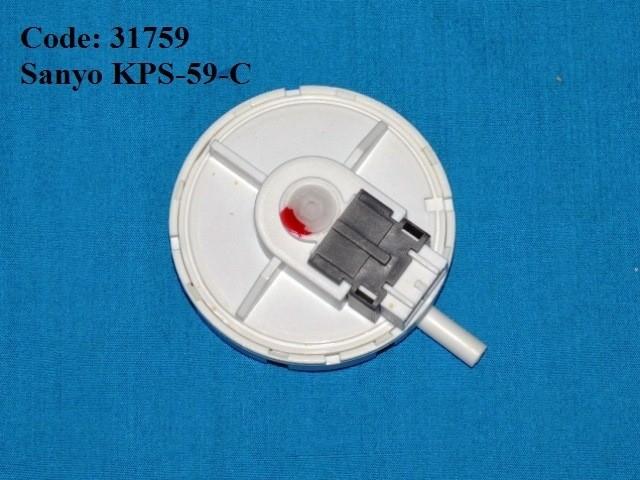 Code: 31759 Sanyo Pressure Sensor Pressure Switch / Pressure Sensor Washing Machine Parts Melaka, Malaysia Supplier, Wholesaler, Supply, Supplies | Adison Component Sdn Bhd