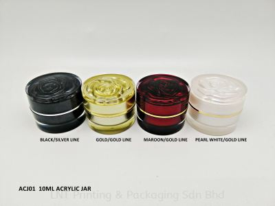 ACJ01 10ML ACRYLIC JAR