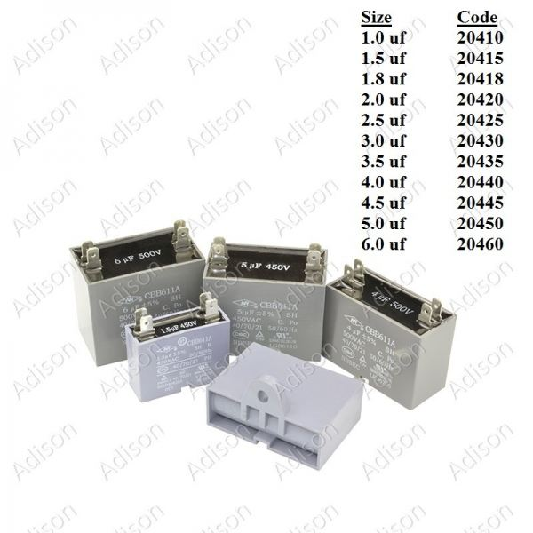 Code: 20450 5.0 uf Fan Capacitor 4 Pin Type Fan Capacitor 4 Pin Type Capacitor Parts Melaka, Malaysia Supplier, Wholesaler, Supply, Supplies | Adison Component Sdn Bhd