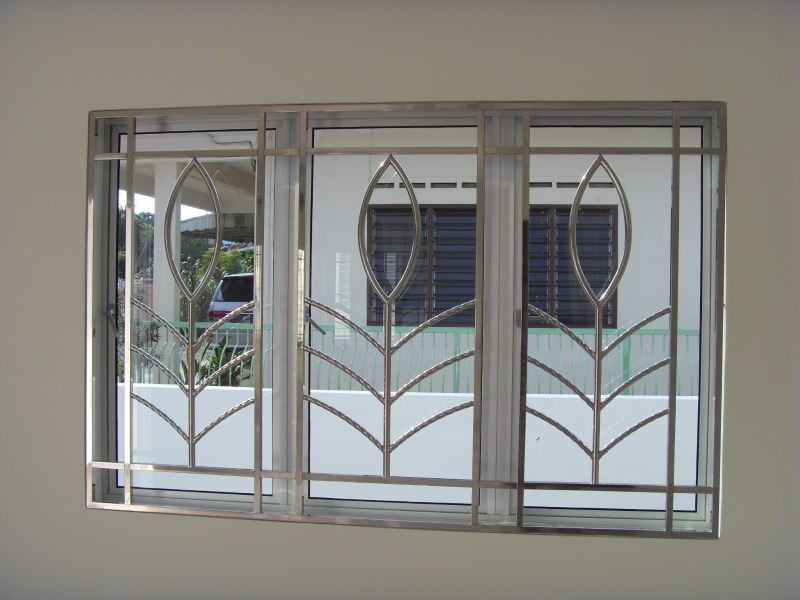 Stainless Steel Window Grill Grille Malaysia Reference Renovation Design    | HomeBagus - Home and Deco ONLINE EXPO!