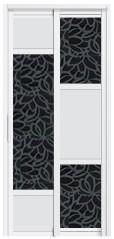 SD-8099 Toilet Door Malaysia Johor Bahru JB, Singapore Supplier, Installation | S & K Solid Wood Doors