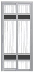 SD-8150 Toilet Door Malaysia Johor Bahru JB, Singapore Supplier, Installation | S & K Solid Wood Doors