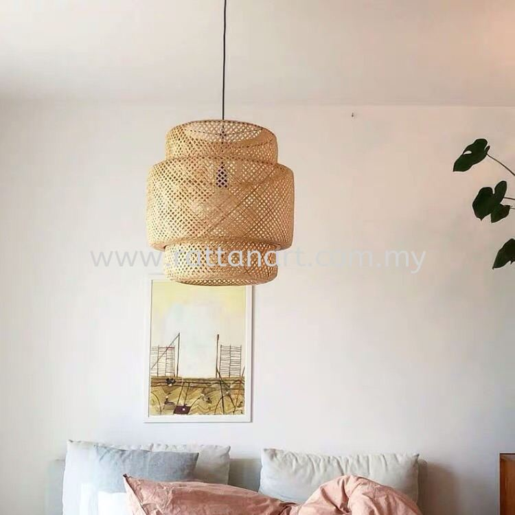 RATTAN PENDANT LIGHT TROPICANA