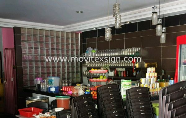 befor wallstick backdrop posters for food n drinks advertising  3D Wall stickers /wallpaper or Digital graphics Uv print vinyl Johor Bahru (JB), Johor, Malaysia. Design, Supplier, Manufacturers, Suppliers | M-Movitexsign Advertising Art & Print Sdn Bhd