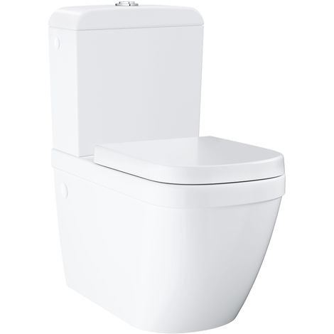 Grohe Euro Ceramic 39462000 Close Coupled WC Water Closet Grohe Collection Malaysia, Selangor, Klang, Kuala Lumpur (KL) Supplier, Suppliers, Supply, Supplies | LTL Corporation Sdn Bhd
