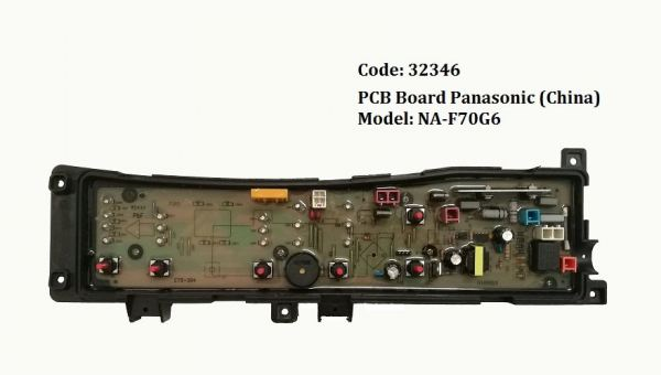 Code: 32346 PCB Board Panasonic (China) PCB Board Washing Machine Parts Melaka, Malaysia Supplier, Wholesaler, Supply, Supplies | Adison Component Sdn Bhd