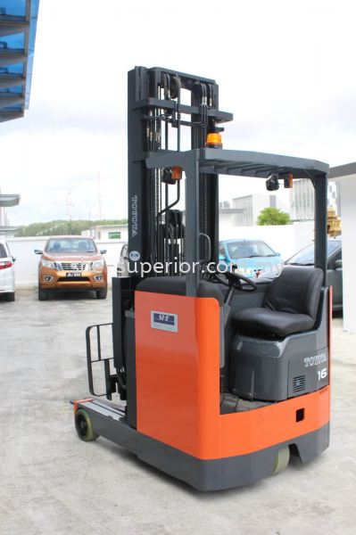 Battery Reach Truck (Sit on) Battery Reach Truck (Sit on) SHE Fully Reconditioned Forklift / Reach Truck Johor Bahru (JB), Malaysia, Taman Ekoperniagaan Supplier, Rental, Supply, Supplies | SHE Handling Equipment (M) Sdn Bhd