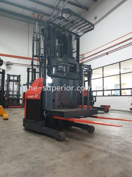 Order Picker Order Picker SHE Fully Reconditioned Forklift / Reach Truck Johor Bahru (JB), Malaysia, Taman Ekoperniagaan Supplier, Rental, Supply, Supplies | SHE Handling Equipment (M) Sdn Bhd