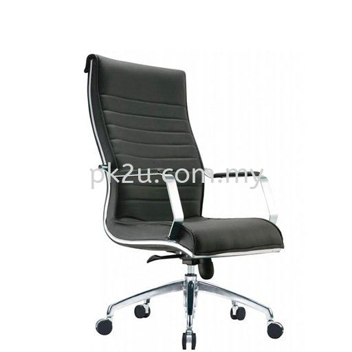 Maximo Executive Leather Chair Leather Office Chairs Office Seating Johor Bahru, JB, Malaysia Manufacturer, Supplier, Supply   PK Furniture System Sdn Bhd