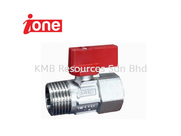 Ione Mini Ball Valve Valve Water Distribution Perak, Malaysia, Ipoh Supplier, Suppliers, Supply, Supplies   KMB Resources Sdn Bhd
