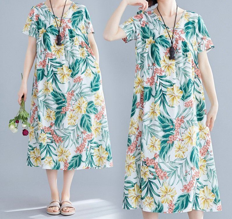 Sheisahero Korea - Flora Dress 880006