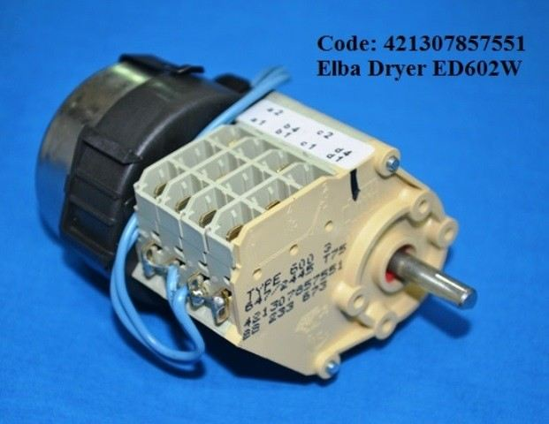 Code: 421307857551 Elba Dryer Timer ED602W Dryer Timer Tumble Dryer Parts Melaka, Malaysia Supplier, Wholesaler, Supply, Supplies | Adison Component Sdn Bhd