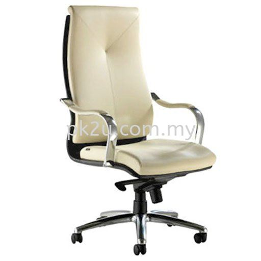 Alivio Director Chair Director Leather Chair Leather Office Chairs Office Seating Johor Bahru, JB, Malaysia Manufacturer, Supplier, Supply | PK Furniture System Sdn Bhd