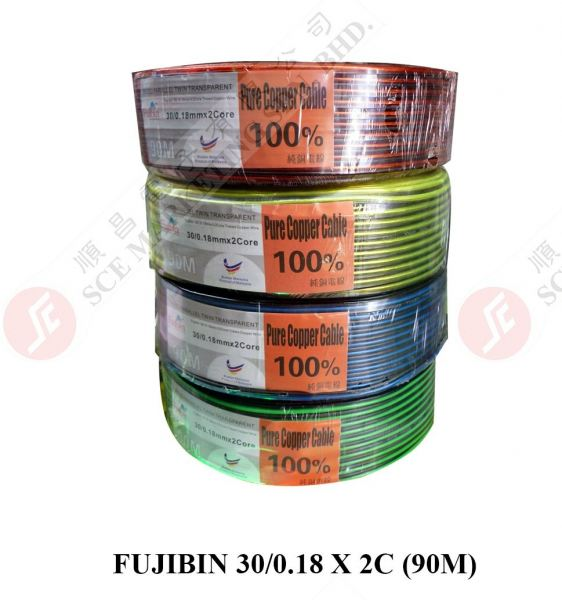 FUJIBIN SPEAKER CABLE 30/0.18X2C CABLE SWALLOW PRODUCT Johor Bahru, JB, Johor. Supplier, Suppliers, Supplies, Supply | SCE Marketing Sdn Bhd