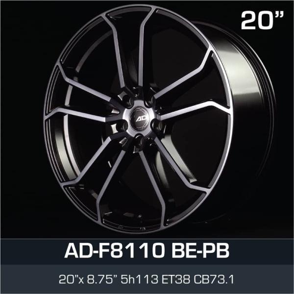 "AD-F8110 BE-PB 20"" AD SPORT RIM Selangor, Seri Kembangan, Malaysia, Kuala Lumpur (KL) Supplier, Suppliers, Supply, Supplies | SG Auto Aircond & Car Service Centre Sdn Bhd"