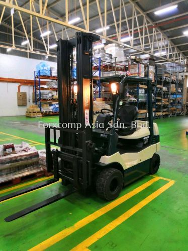 2.5 Ton Toyota Counter Balance Battery Forklift - Fully Recondition