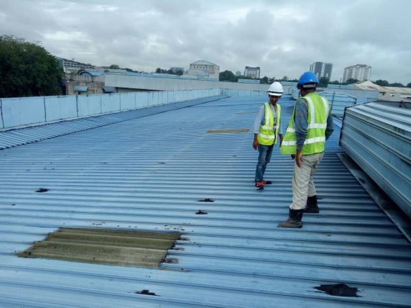 Metal Deck Roofing Factory Maintenances- Banting, Sel Commercials  Renovation Construction Specialize Selangor, Semenyih, Kuala Lumpur (KL), Malaysia Services, Repair, Contractor | Hin Construction Sdn Bhd