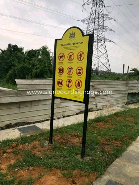 Notice Board MPK Construction Board Klang, Selangor, Malaysia, Kuala Lumpur (KL) Manufacturer, Maker, Supplier, Supply | Dynasty Print Solution