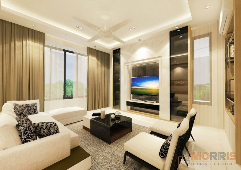 Living Interior Design - Malaysia Living Room / Hall Design Malaysia Reference Renovation Design    | HomeBagus - Home and Deco ONLINE EXPO!