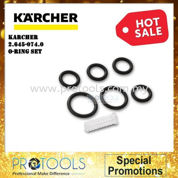 KARCHER O RING SET ACCESSORIES Karcher Water Systems & Garden Hoses Johor Bahru (JB), Malaysia, Skudai Supplier, Suppliers, Supply, Supplies | Protools Hardware Sdn Bhd