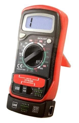 UTP Tester + Multi Meter Accessories - Burglar Alarm Perak, Ipoh, Malaysia Installation, Supplier, Supply, Supplies | Exces Sales & Services Sdn Bhd