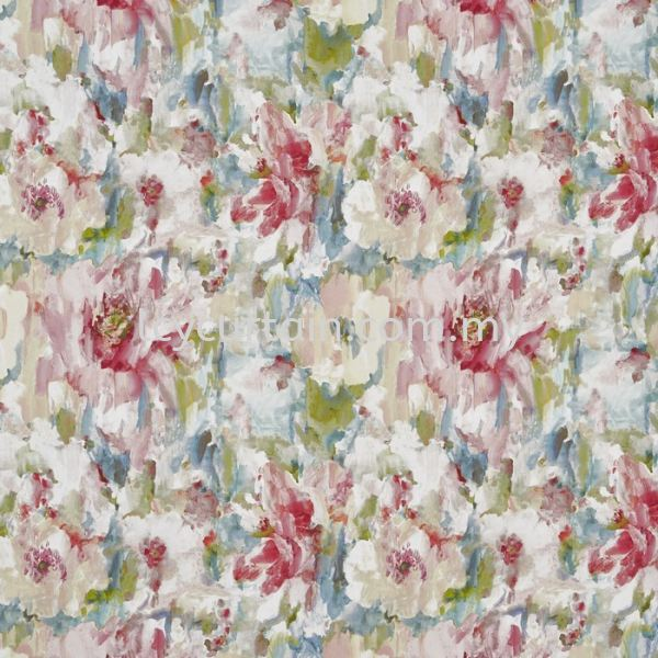Floral Floral Curtain Selangor, Malaysia, Kuala Lumpur (KL), Puchong Supplier, Suppliers, Supply, Supplies   LCY Curtain & Blinds