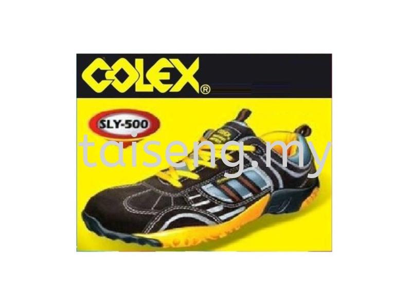 Colex Safety Shoes SLY 500 Safety Gears Johor Bahru (JB), Malaysia, Gelang Patah Supplier, Wholesaler, Supply, Supplies | Syarikat Logam & Bahan Pembinaan Tai Seng Sdn Bhd