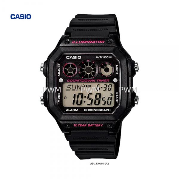 AE-1300WH-1A2 Others Penang, Malaysia, Bayan Baru Watches, Supplier, Supply, Supplies | TYME®