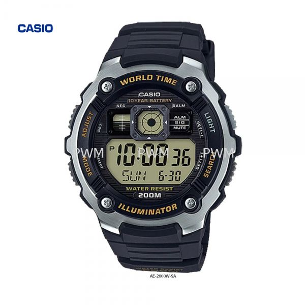 AE-2000W-9A Others Penang, Malaysia, Bayan Baru Watches, Supplier, Supply, Supplies   TYME®