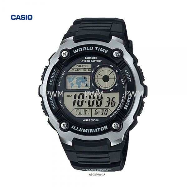 AE-2100W-1A Others Penang, Malaysia, Bayan Baru Watches, Supplier, Supply, Supplies | TYME®