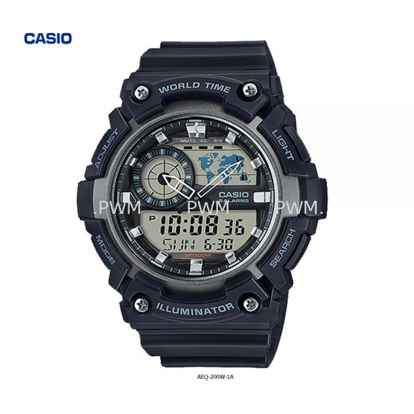 AEQ-200W-1A Others Penang, Malaysia, Bayan Baru Watches, Supplier, Supply, Supplies | TYME®
