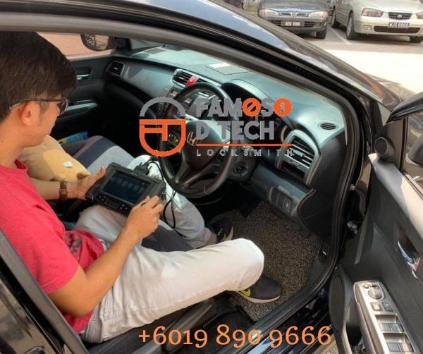 Honda City Remote Key Add Key Car Key Service Johor Bahru (JB), Malaysia, Masai, Pasir Gudang Supplier, Supply, Service | Famoso Locksmith Sdn Bhd