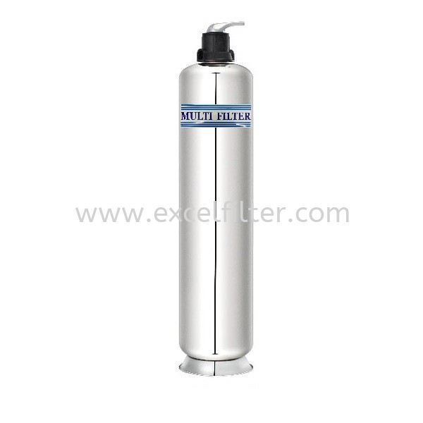 4ft/5ft Stainless Steel Outdoor Filter Tank with Manual Head Outdoor Water Filter Selangor, Malaysia, Kuala Lumpur (KL), Cheras Supplier, Suppliers, Supply, Supplies | Excel Filter Sdn Bhd