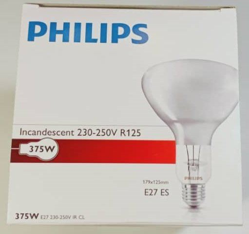 Philips 375W R125 Infrared Lamp Clear Infrared Lamps Selangor, Malaysia, Kuala Lumpur (KL), Subang Jaya Supplier, Suppliers, Supply, Supplies | Lindner Sdn Bhd