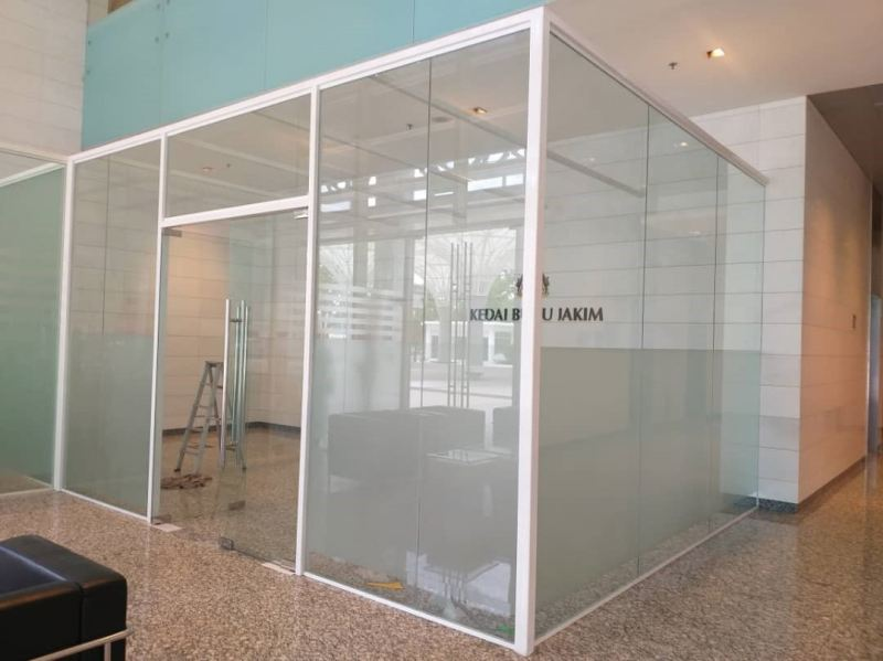 Aluminium Partition with Glass Partition Puchong, Selangor, Kuala Lumpur (KL), Malaysia. Supplier, Supply, Supplies, Service | LS Venture Enterprise
