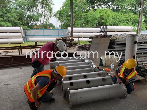 Industrial Fabrication Selangor, Malaysia, Kuala Lumpur (KL), Puchong Service, Installation | Miraco Engineering Services Sdn Bhd
