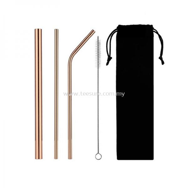 Stainless Steel Straw Set Straw Malaysia, Selangor, Puchong Supplier Supply Manufacturer   Tee Sure Sdn Bhd