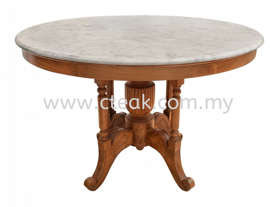 Kopitiam Table With Marble Top