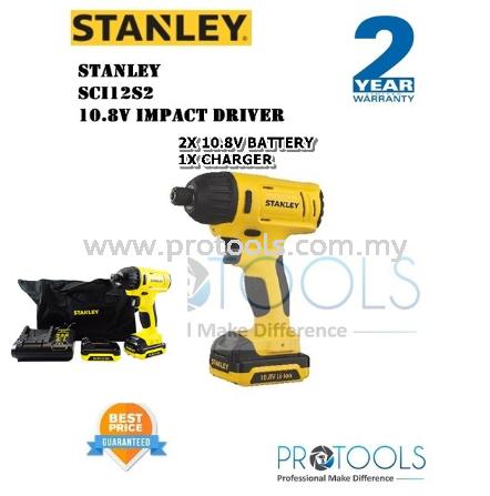 STANLEY SCI12S2 10.8V IMPACT DRIVER - 2 years warranty IMPACT DRIVER CORDLESS POWER TOOLS Johor Bahru (JB), Malaysia, Senai Supplier, Suppliers, Supply, Supplies | Protools Hardware Sdn Bhd