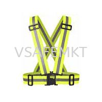 Elastic Safety Vest Orange / Yellow Clothing PPE Selangor, Malaysia, Kuala Lumpur (KL), Puchong Supplier, Suppliers, Supply, Supplies | Vsafe Marketing