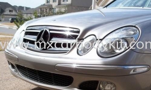 MERCEDES BENZ W211 2002 CL SPORT FRONT GRILLE  W211 (E CLASS) MERCEDES BENZ Johor, Malaysia, Johor Bahru (JB), Masai. Supplier, Suppliers, Supply, Supplies | MX Car Body Kit
