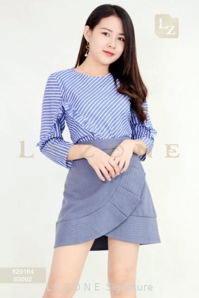 63002 Wrap Skirt 半裙 新款裤子/ 半裙    | LE ZONE Signature