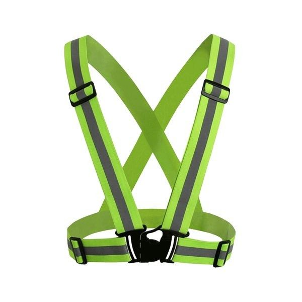 Elastic Vest with Reflective & Buckle - Fluoroscent Green  Safety Vest Selangor, Malaysia, Kuala Lumpur (KL), Klang Supplier, Suppliers, Supply, Supplies | Standard Fashion Trading Sdn Bhd