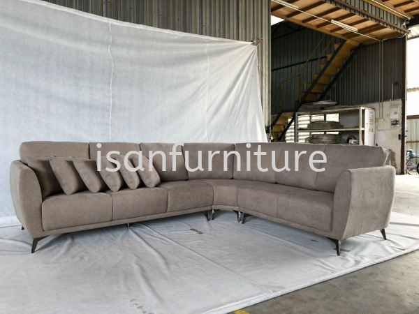 IS-LS-2069 L-Shape Sofa New Products Selangor, Malaysia, Kuala Lumpur (KL), Sungai Buloh Manufacturer, Supplier, Supplies, Supply | Isan Furniture Manufacturing Sdn Bhd