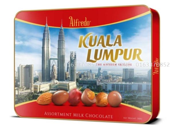 Alfredo Assortment Milk Chocolate Chocolate Ala Carte Johor Bahru (JB), Malaysia Hampers, Supplier, Supply, Supplies   Jacq One Marketing Sdn Bhd