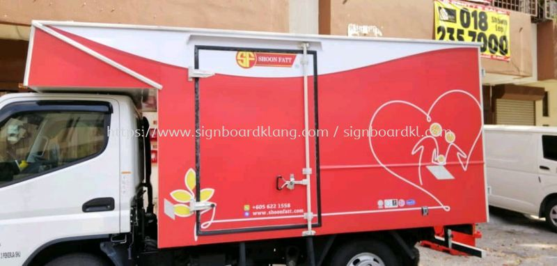 Soon Fatt truck lorry sticker at cheras Truck Lorry Sticker Selangor, Malaysia Supply, Manufacturers, Printing | Great Sign Advertising (M) Sdn Bhd