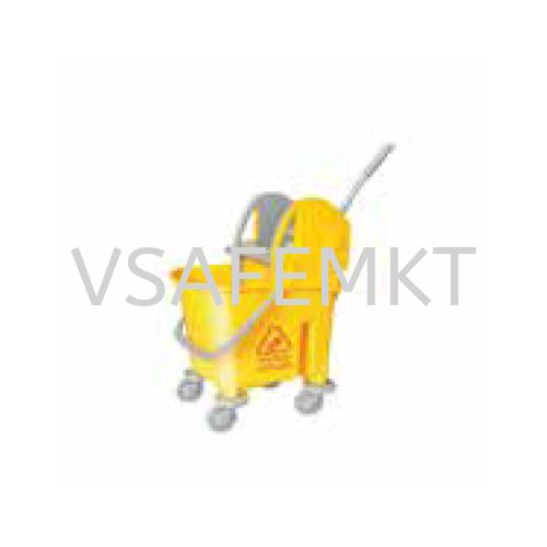 Yellow Italy Single Mop Bucket - 22L (Down Press) Toilet Item Selangor, Malaysia, Kuala Lumpur (KL), Puchong Supplier, Suppliers, Supply, Supplies | Vsafe Marketing