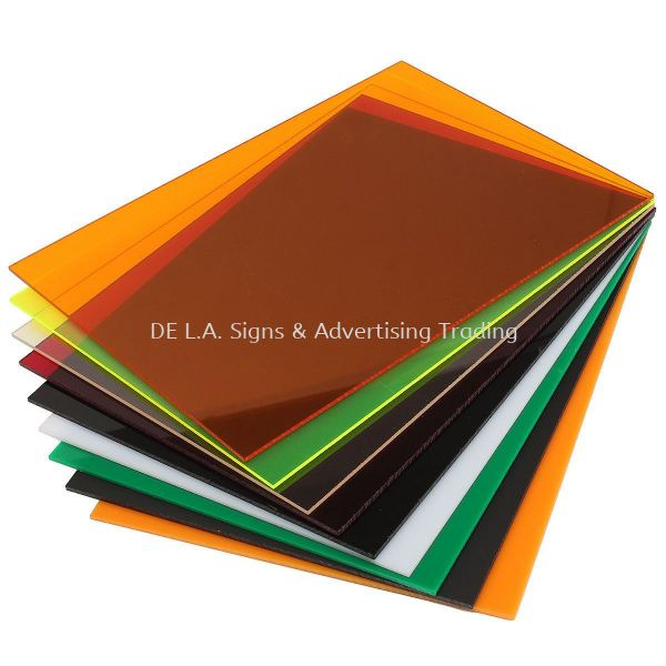 Acrylic or Perspex Acrylic or Perspex Kuala Lumpur (KL), Malaysia, Selangor, Perindustrian KIP Manufacturer, Supplier, Supply, Supplies | DE L.A. Signs & Advertising Trading